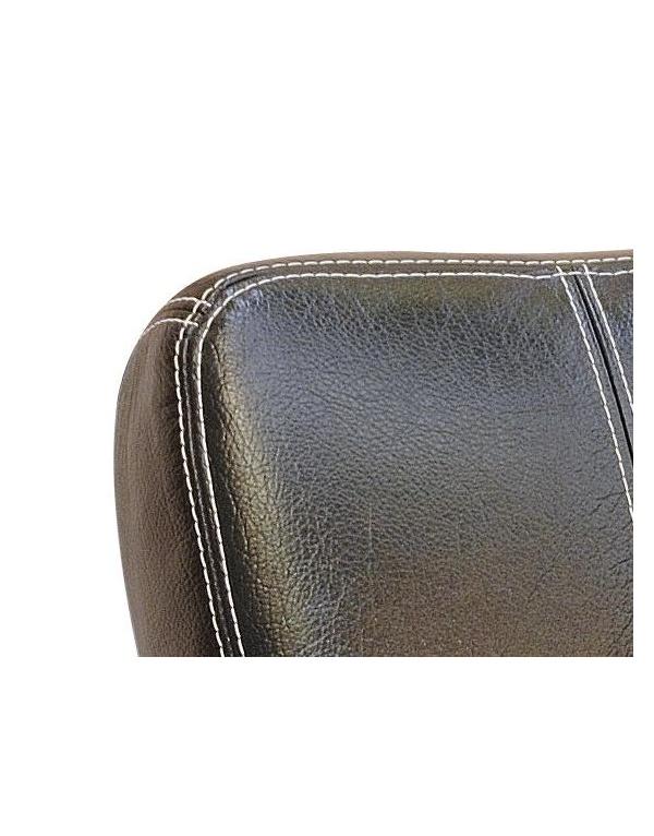 Canape torino cuir buffle deux et trois places deco meubles - Canape deux places cuir ...