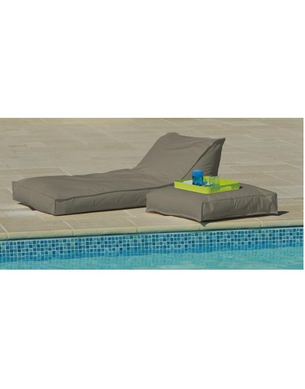 matelas bain de soleil 165 x 73 taupe deco meubles. Black Bedroom Furniture Sets. Home Design Ideas
