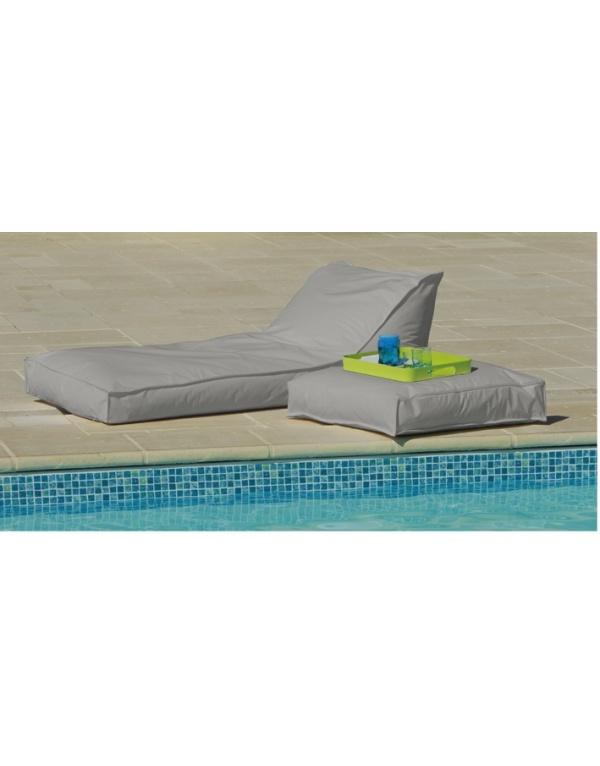 matelas bain de soleil 165 x 73 gris deco meubles. Black Bedroom Furniture Sets. Home Design Ideas