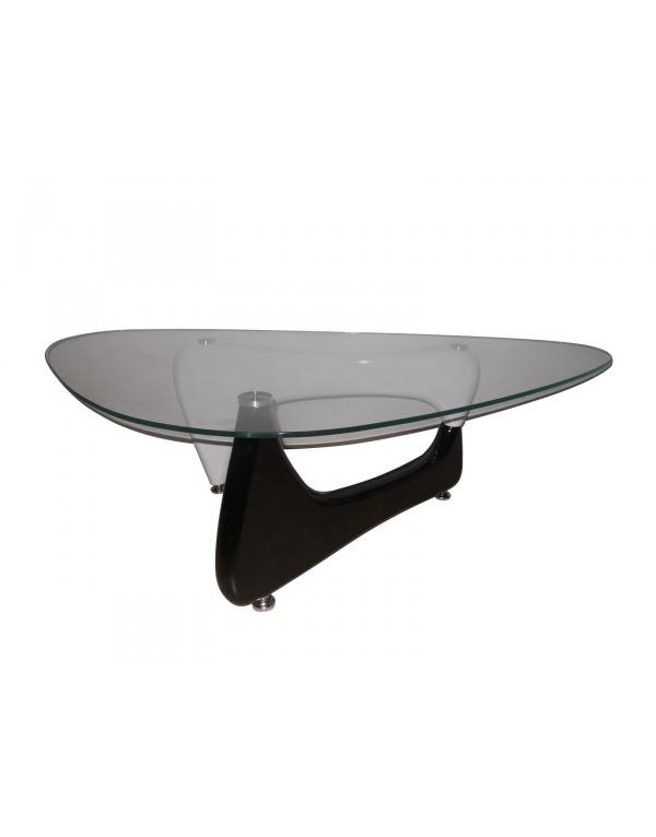 Table basse noir et blanche