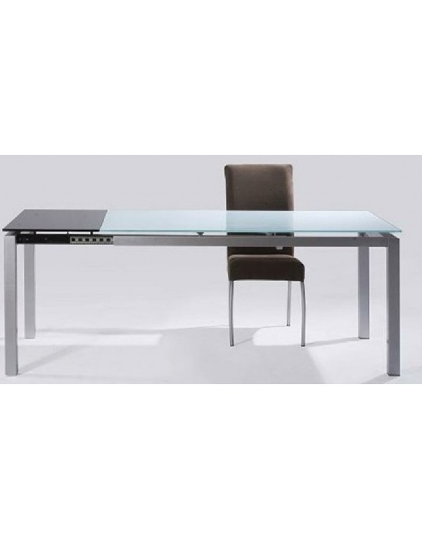 table avec allonge deco meubles. Black Bedroom Furniture Sets. Home Design Ideas
