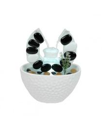 Fontaine bol à corne blanche