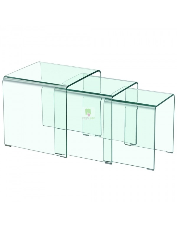 Table basse gigogne cube de fly - Table basse rangement bouteille ...