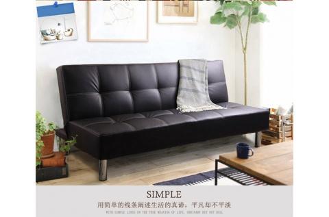 Banquette lit simili noir deco meubles for Banquette lit soldes