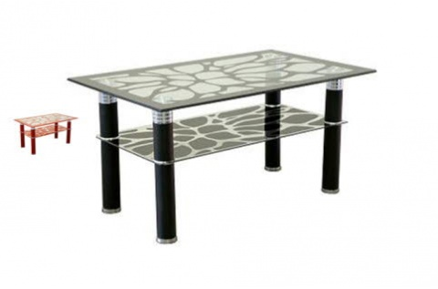 Table basse jumanji noir deco meubles - Table basse solde ...