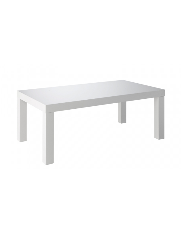 Table basse bar blanche maison design for Table bar blanche