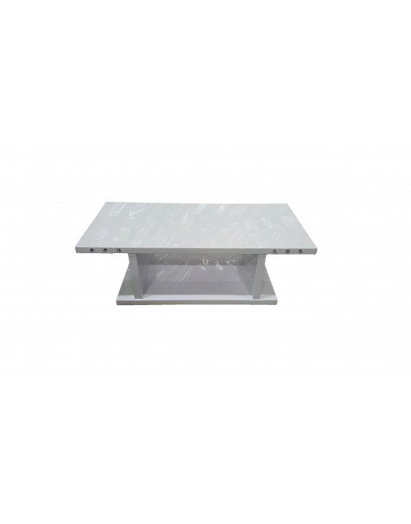 Table laque blanche conceptions de maison - Table basse blanche laque ...