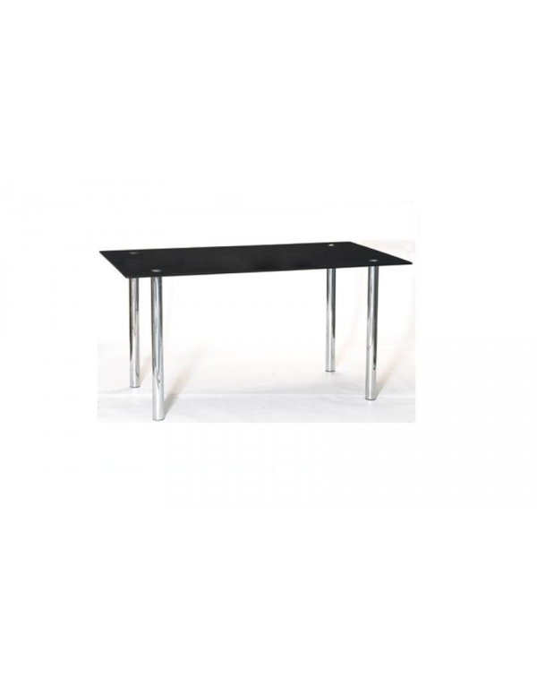 table de salle manger en verre noire lille. Black Bedroom Furniture Sets. Home Design Ideas