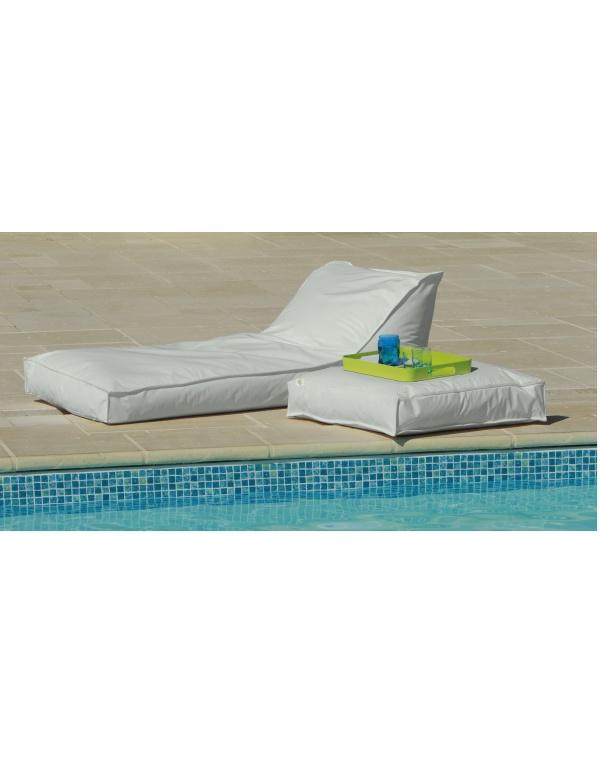 matelas bain de soleil ecru deco meubles. Black Bedroom Furniture Sets. Home Design Ideas